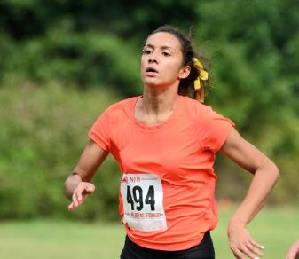 Freshman Sabrina Roldan set the Felician WXC 5K record on Oct. 5, 2013, with a 19:18.