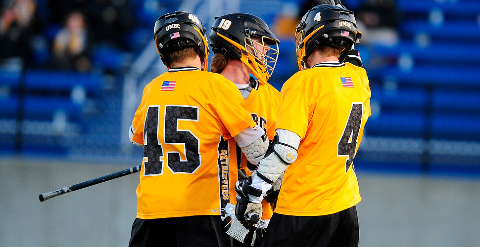 Lewnes Reaches 100-Goal Plateau; UMBC Fights Off Host Mt. St. Mary's 14-11