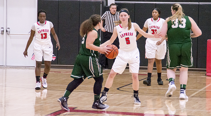 Women's Basketball Rallies For NEAC Win vs. Morrisville