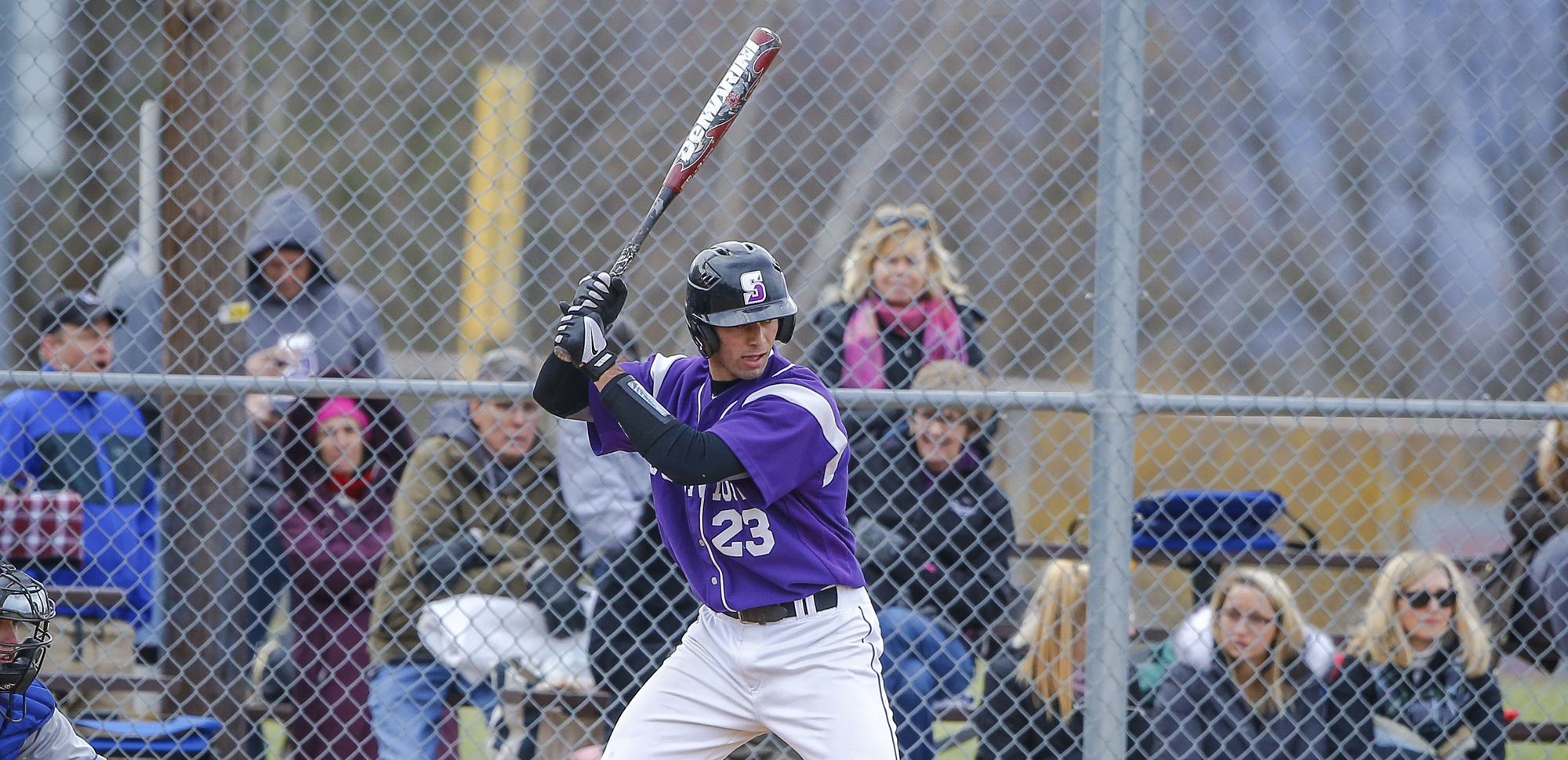 Senior Chase Standen homered twice on Saturday, ripping a grand slam in the first game and launching a three-run shot in the second.