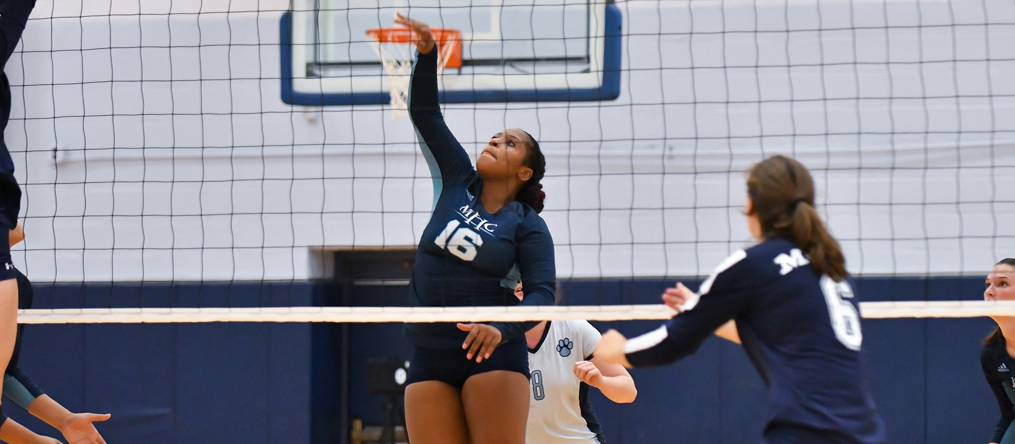 Volleyball Falls to Plymouth State and Norwich in Tri-Match