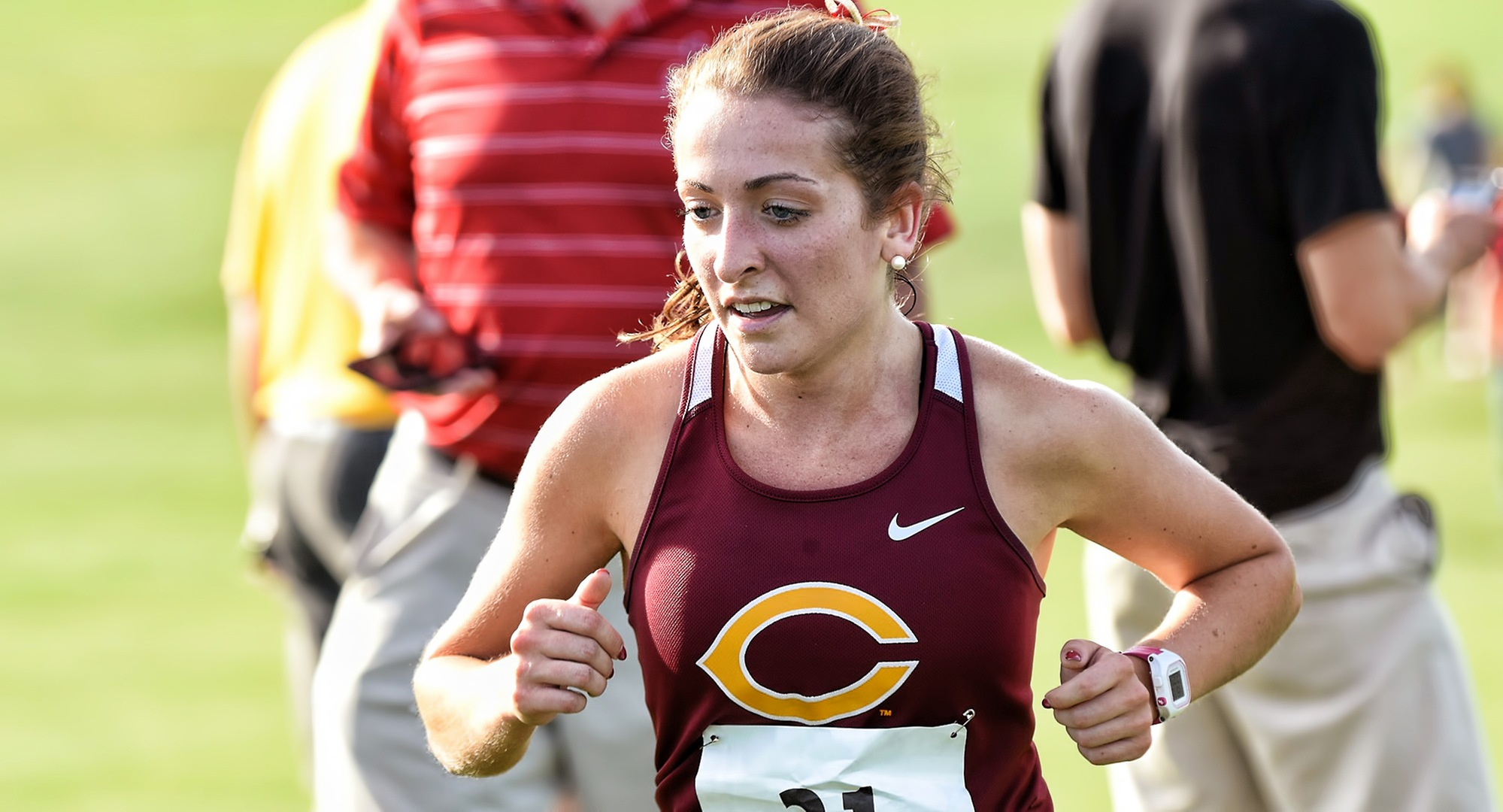 Junior Meritt Miller led Concordia at the UND Ron Pynn Classic with her fastest 5K time of the season.