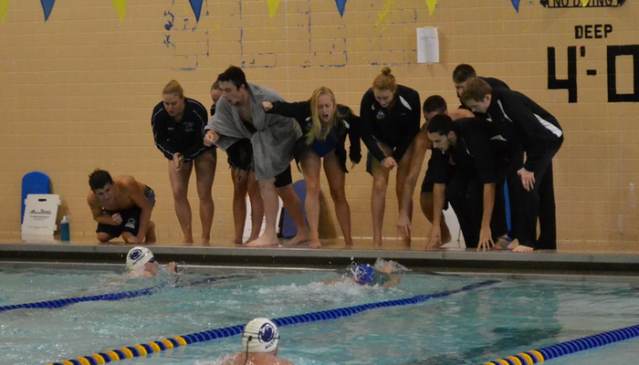 Swimmers Compete on Day One of Fredonia Invite