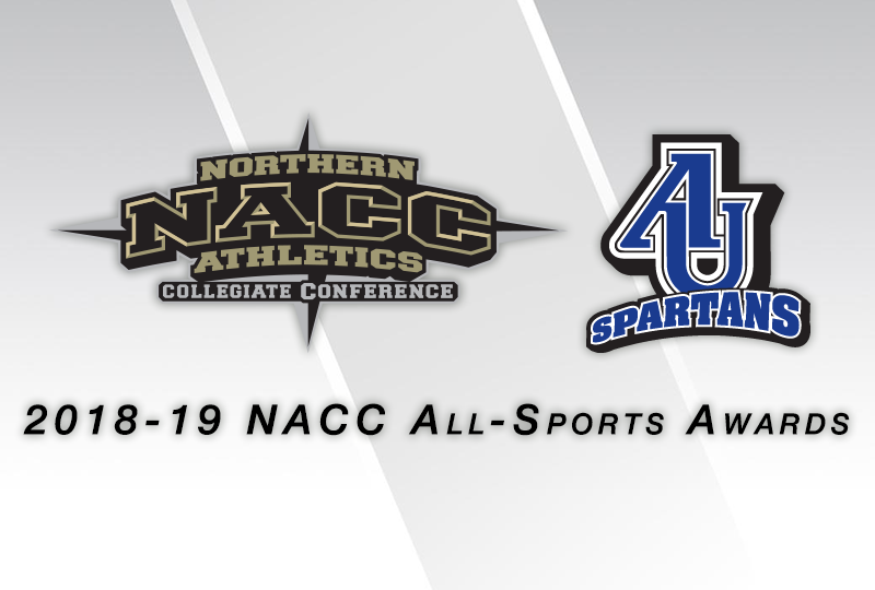 Aurora Sweeps 2018-19 NACC All-Sports Awards
