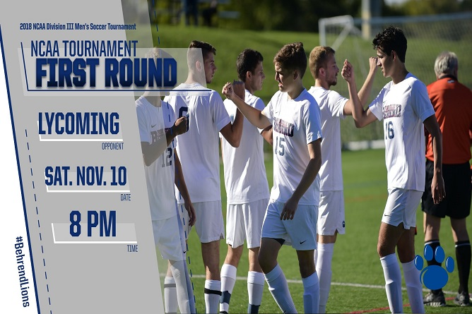 Penn State Behrend Takes on Lycoming in NCAA Tournament Saturday