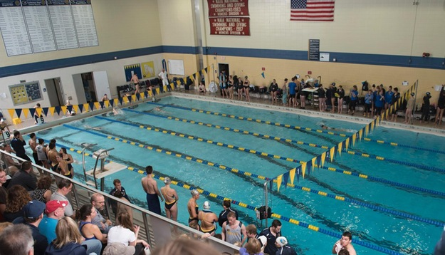 Miller's Record-Breaking Day has Men's Swim & Dive in 2nd at WIAC Championships