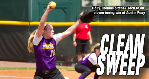 Holly Thomas pitches Tech to marathon victory at APSU