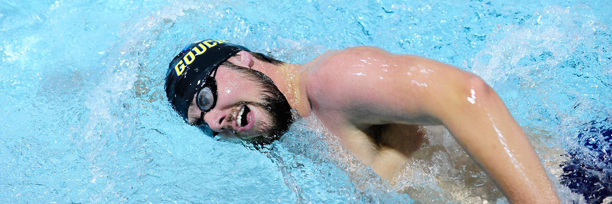 Men's Swimming Ends 2017 Portion of Schedule; Falls to Catholic at Home