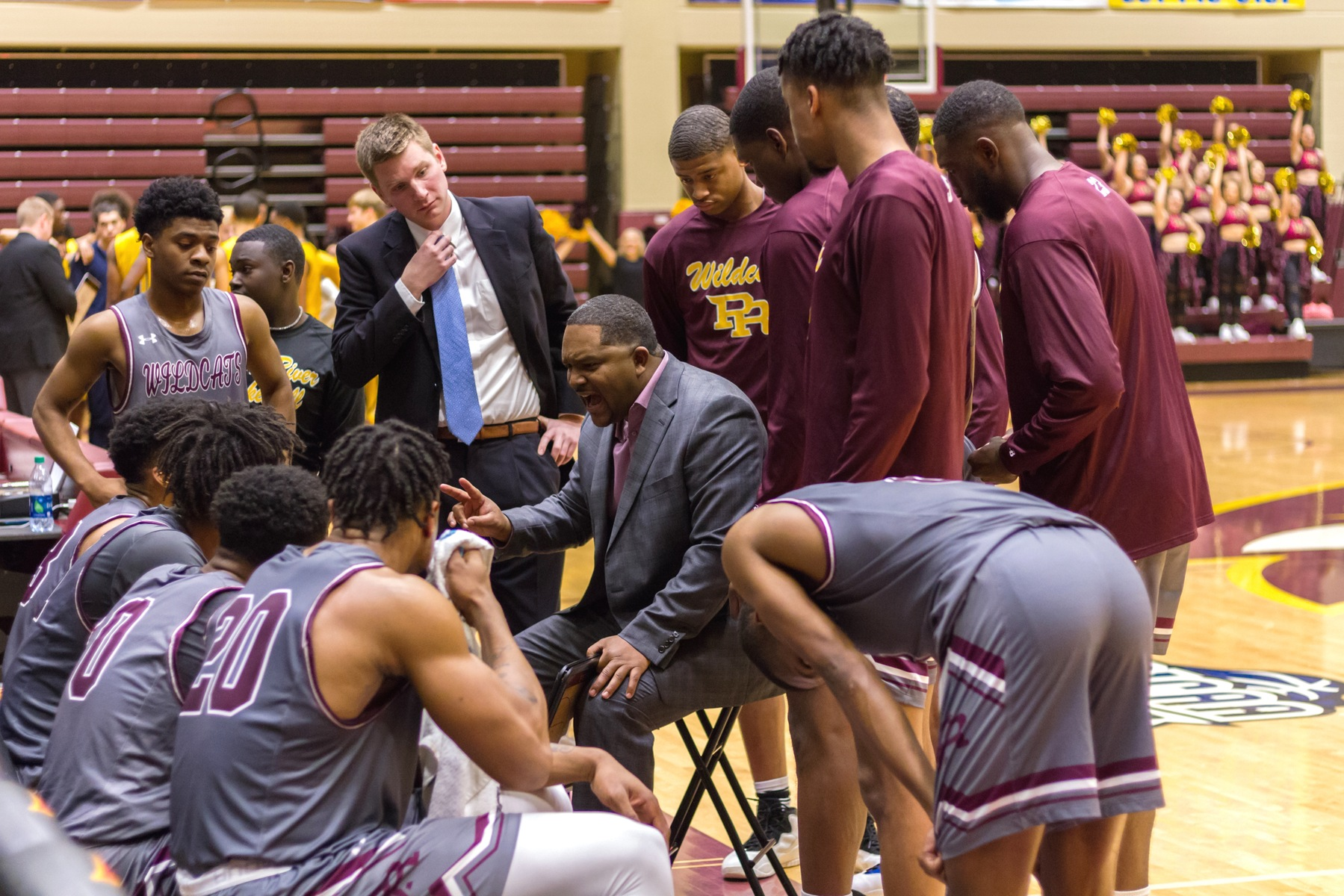 Pearl River fell to Gulf Coast 65-62 on Thursday, Feb. 14, 2019 at Marvin R. White Coliseum in Poplarville, Miss. (BRETT RUSS/PRCC ATHLETICS).