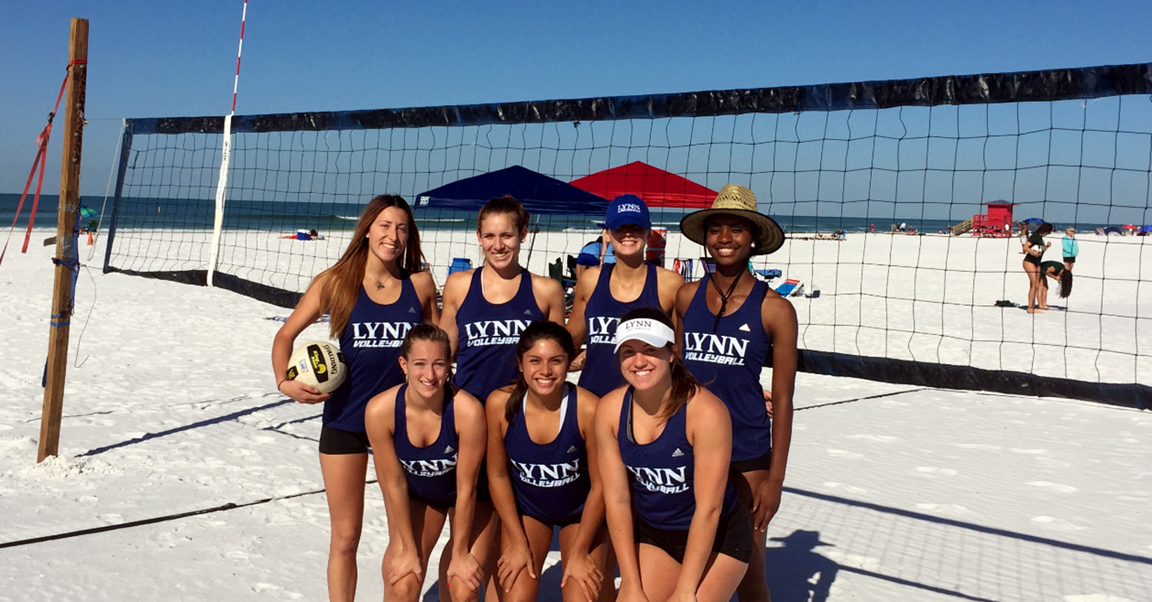 Volleyball Hits the Sand at Siesta Key