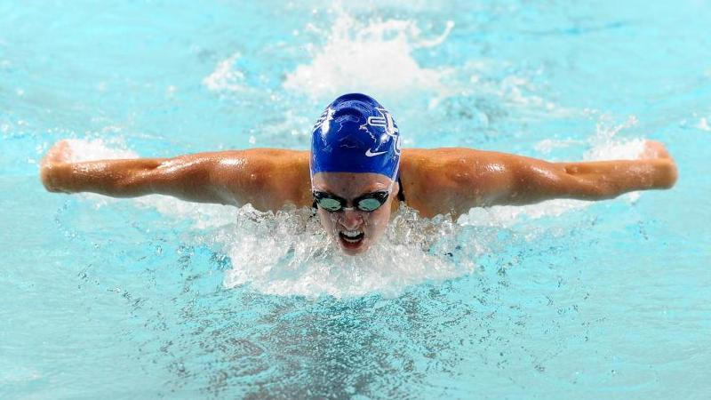 Swim & Dive Takes Three at UCONN