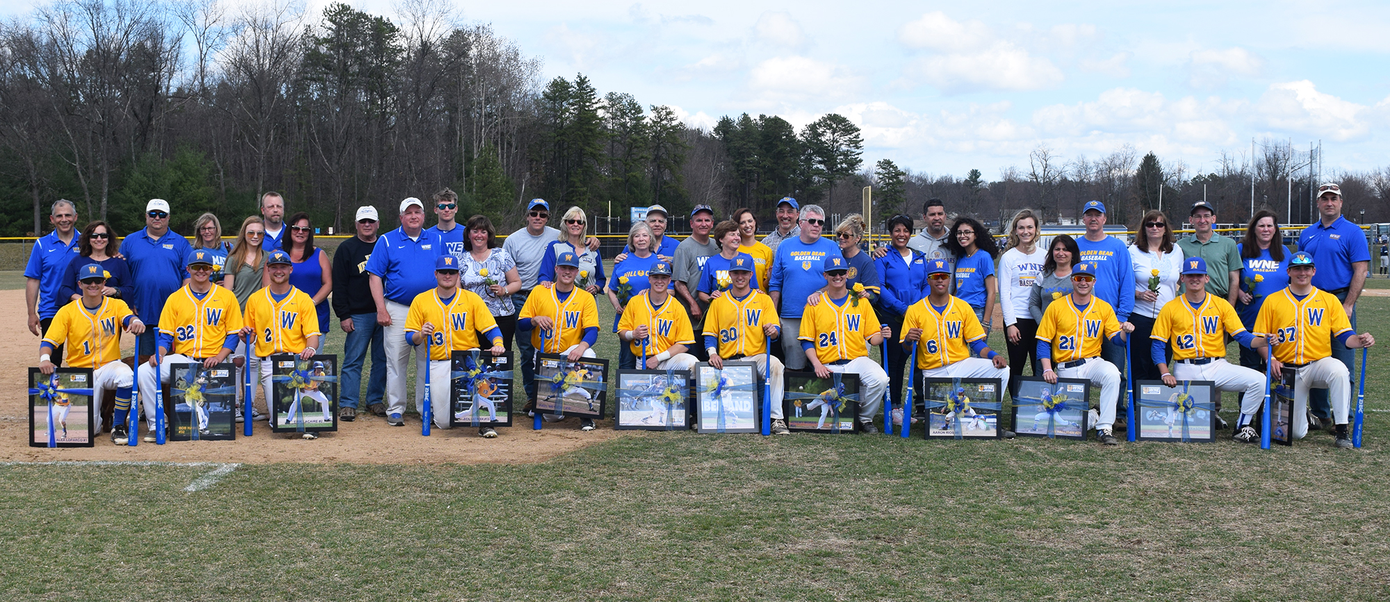 Western New England celebrated Senior Day with a pair of wins over Roger Williams on Saturday. (Photo by Rachael Margossian)