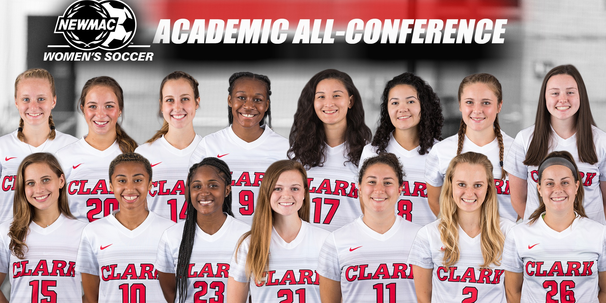 Women's Soccer Places 15 on 2018 NEWMAC Academic All-Conference Team