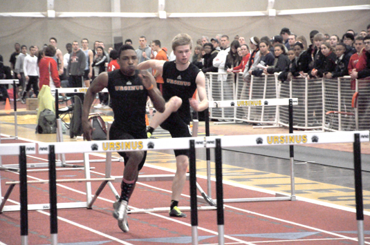 Men's Track and Field third at CC Championships