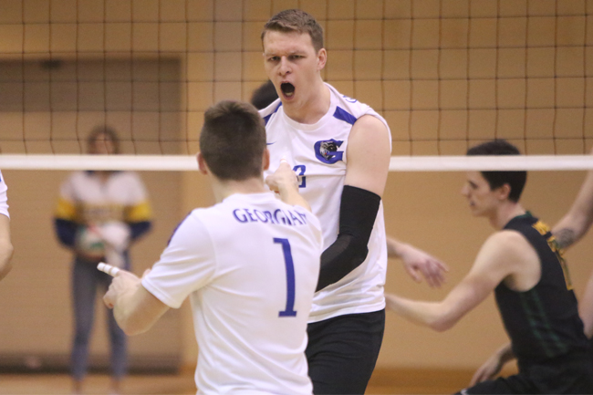 MEN'S VOLLEYBALL KEEP ROLLING WITH SWEEP OVER KNIGHTS