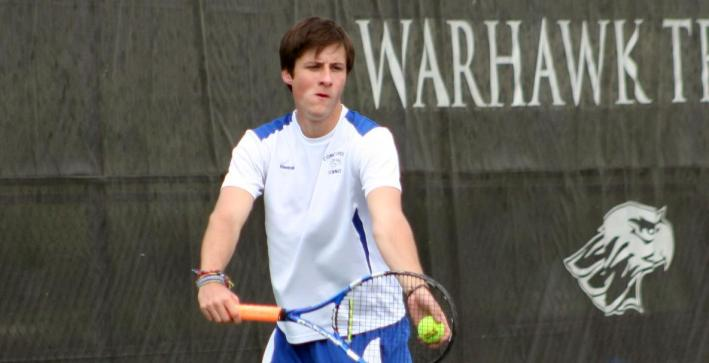 Men's Tennis nets first win of season in non-conference action over Lawrence