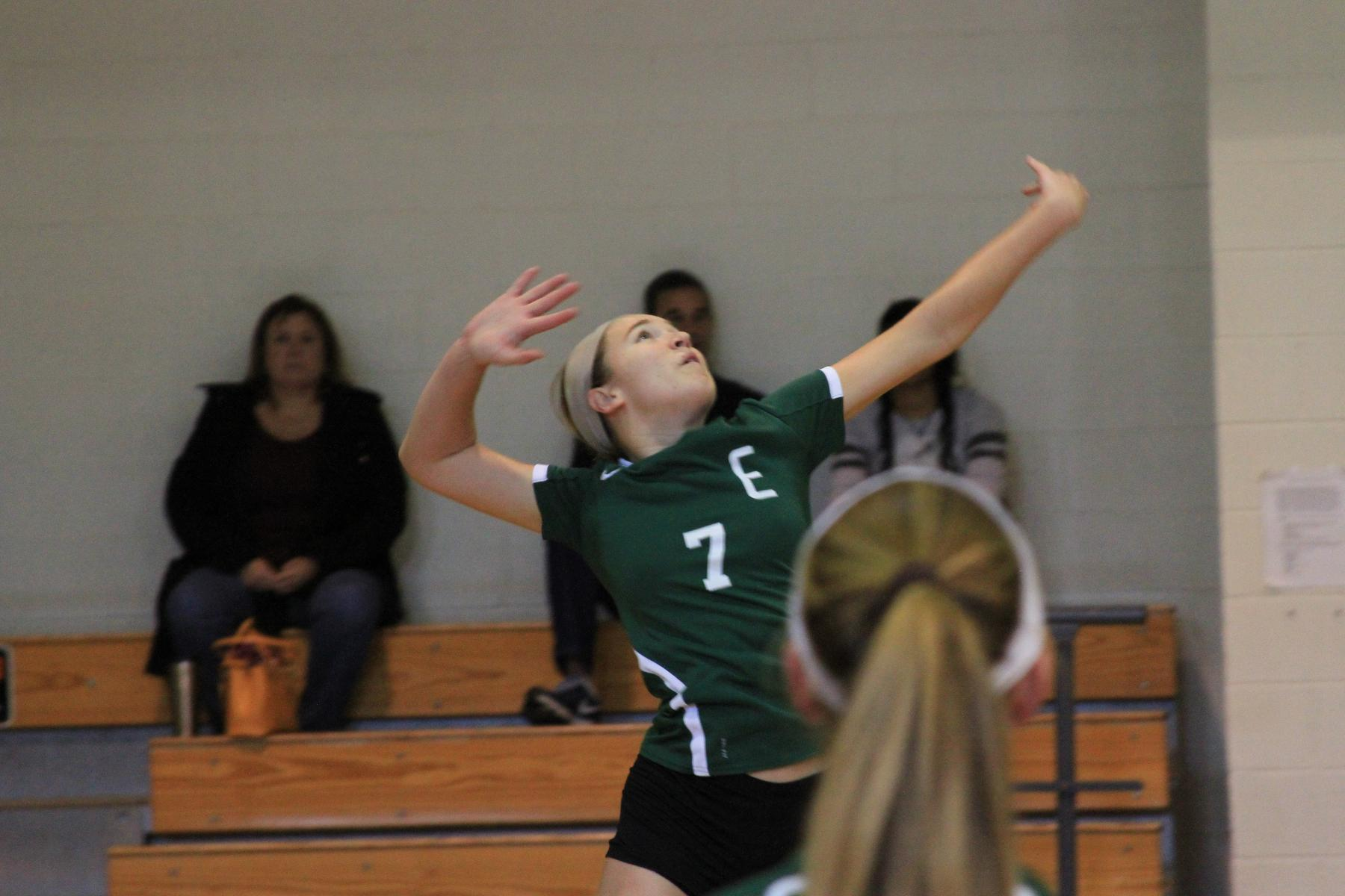 Women's Volleyball Outlasted At Bridgewater State