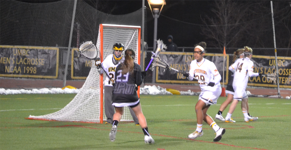 Haggerty Scores First Two Collegiate Goals; UMBC Falls to High Point, 16-6