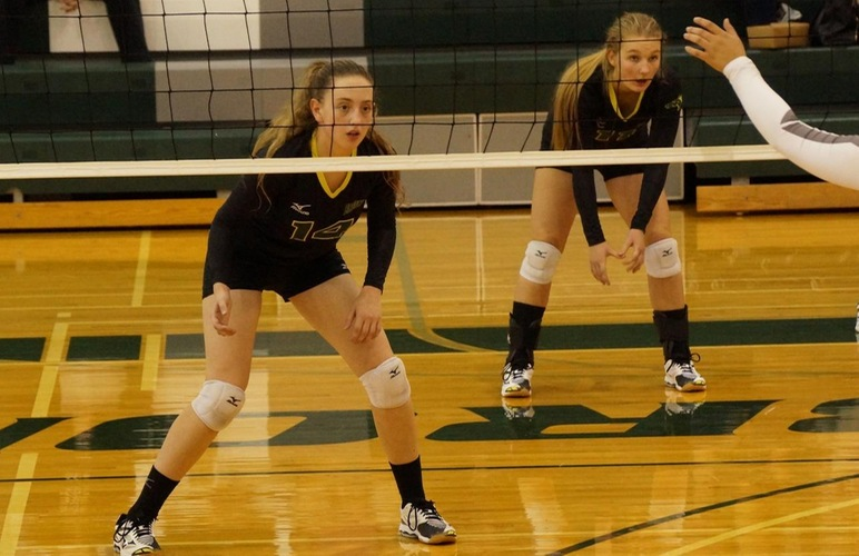 Volleyball Takes Two out of Three as Host of Bronco Quad Match