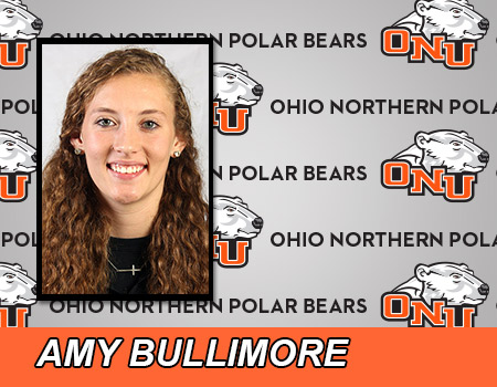 Sophomore Amy Bullimore records a double double to lead the No. 11-ranked Women's Basketball team past Heidelberg