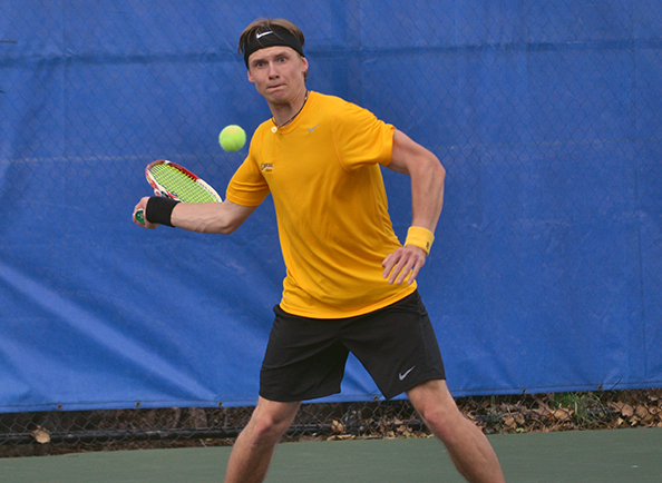 Concordia's Benas Majauskas Named CACC Player of the Week in Men's Tennis