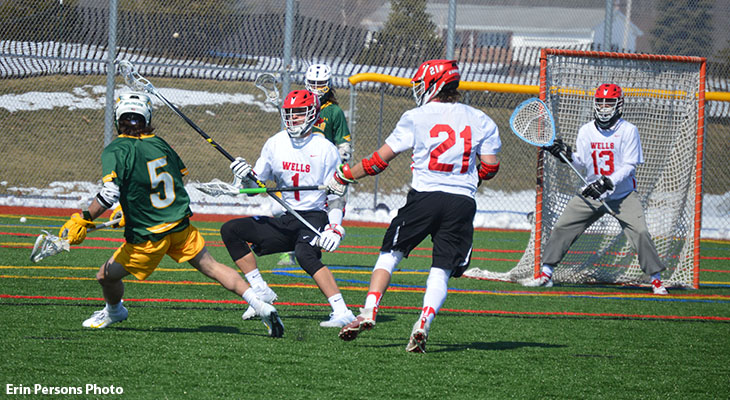 Men's Lacrosse Falls to Delhi in Home Opener