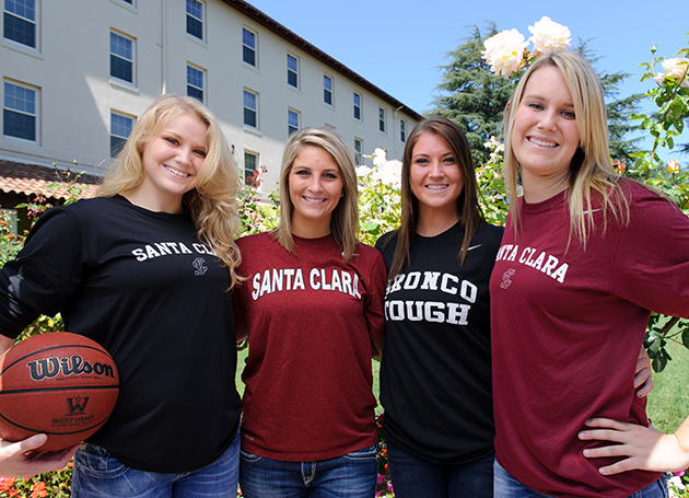 SCU Women's Basketball Welcomes Young Talent; Official Practice Begins Oct. 1