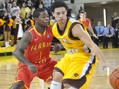 Ferris State Nearly Topples CMU On Hardwood