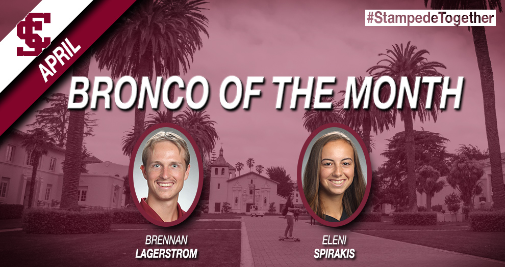 April SAAC Broncos of the Month Announced