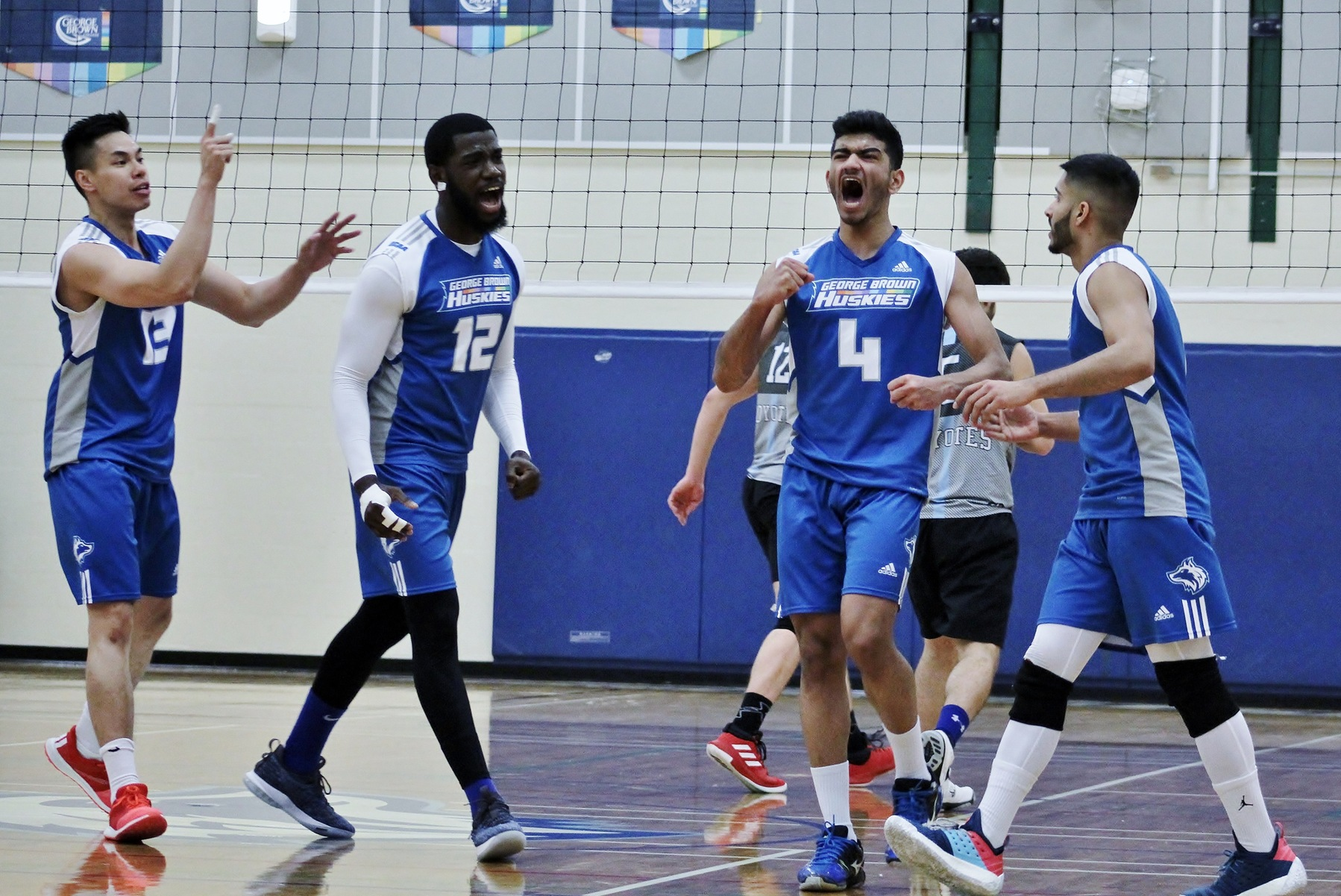 HUSKIES STAR VIVEK MATHIMAKKI NAMED 2ND TEAM OCAA VOLLEYBALL ALL-STAR