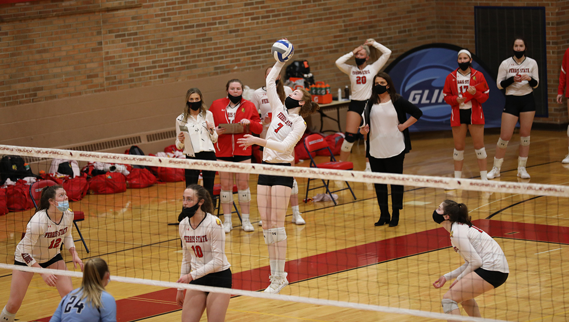 Ferris State Rallies Back For GLIAC Tourney Victory To Advance To Semifinal Round