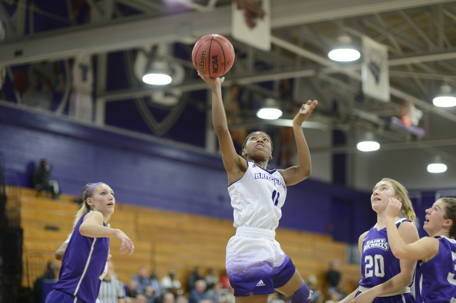 Purple Knights Even Women's Basketball Record At 2-2 With 63-60 Win At Dominican
