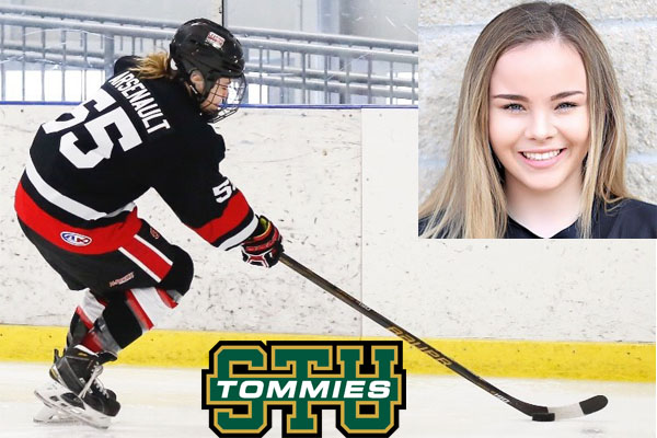 Tommies Add Forward Depth in Erin Arsenault