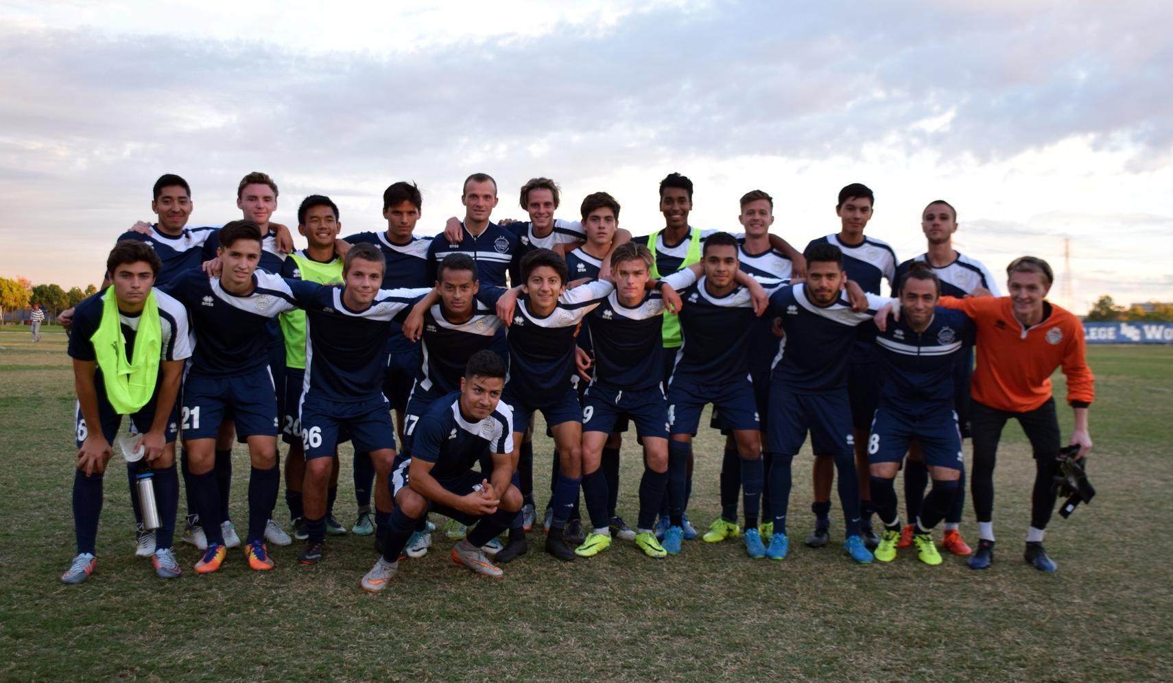 Men's soccer team shuts out Norco in regular season finale