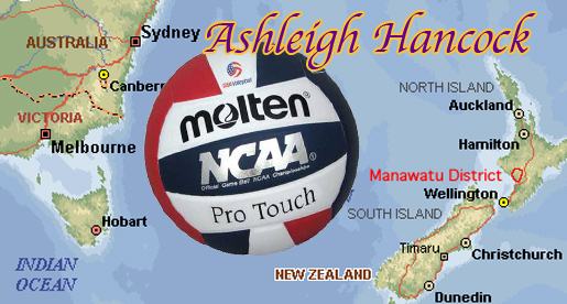 Golden Eagle volleyball signs setter  Ashleigh Hancock of New Zealand