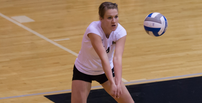 Volleyball rebounds with weekend sweep