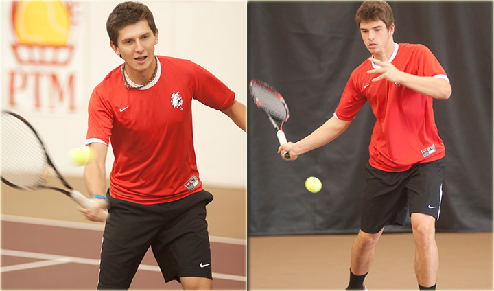 Three Bulldog Men's Tennis Players Claim All-GLIAC Honors