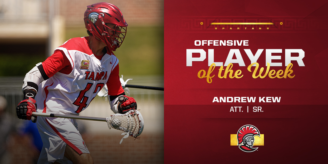 Andrew Kew Earns SSC Offensive Player of the Week