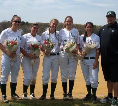 Rams Sweep on Senior Day