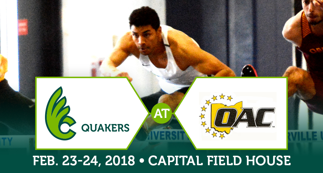 Men's Track and Field Heads to OAC Championships