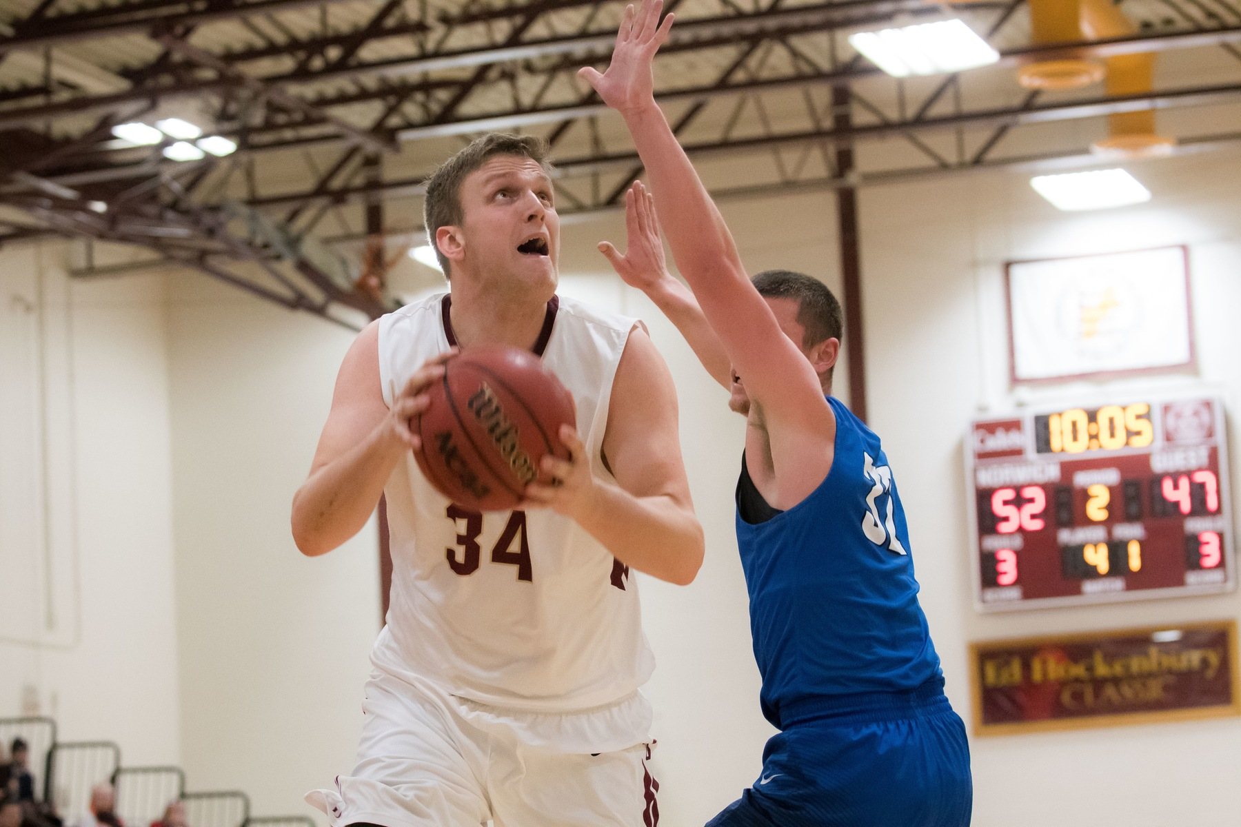 Men's Basketball: Cadets Cruise to 91-58 Victory