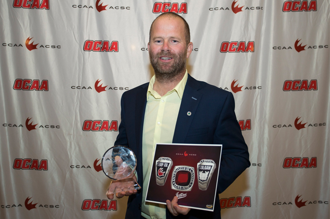 Colgan named CCAA Golf Coach of Year