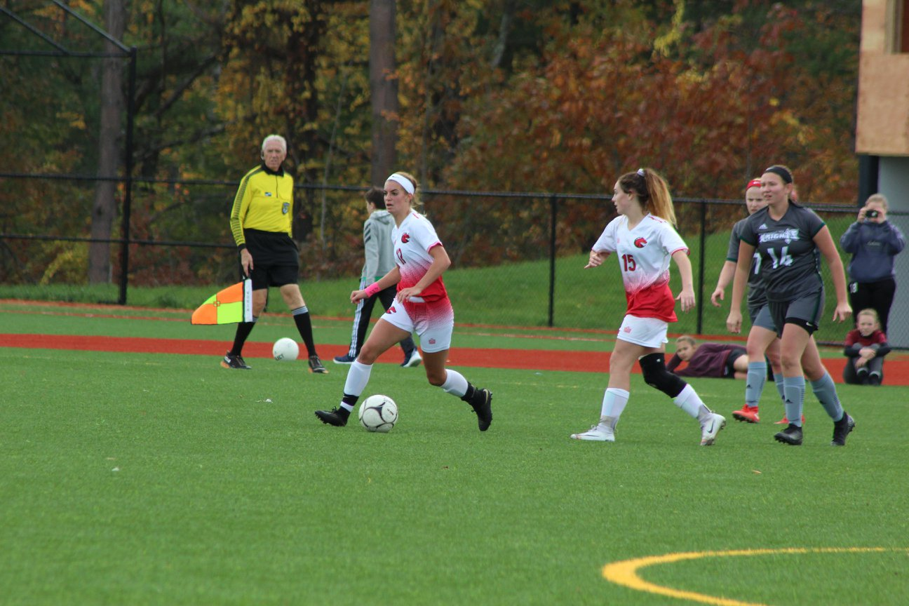 Women's Soccer wins home playoff game