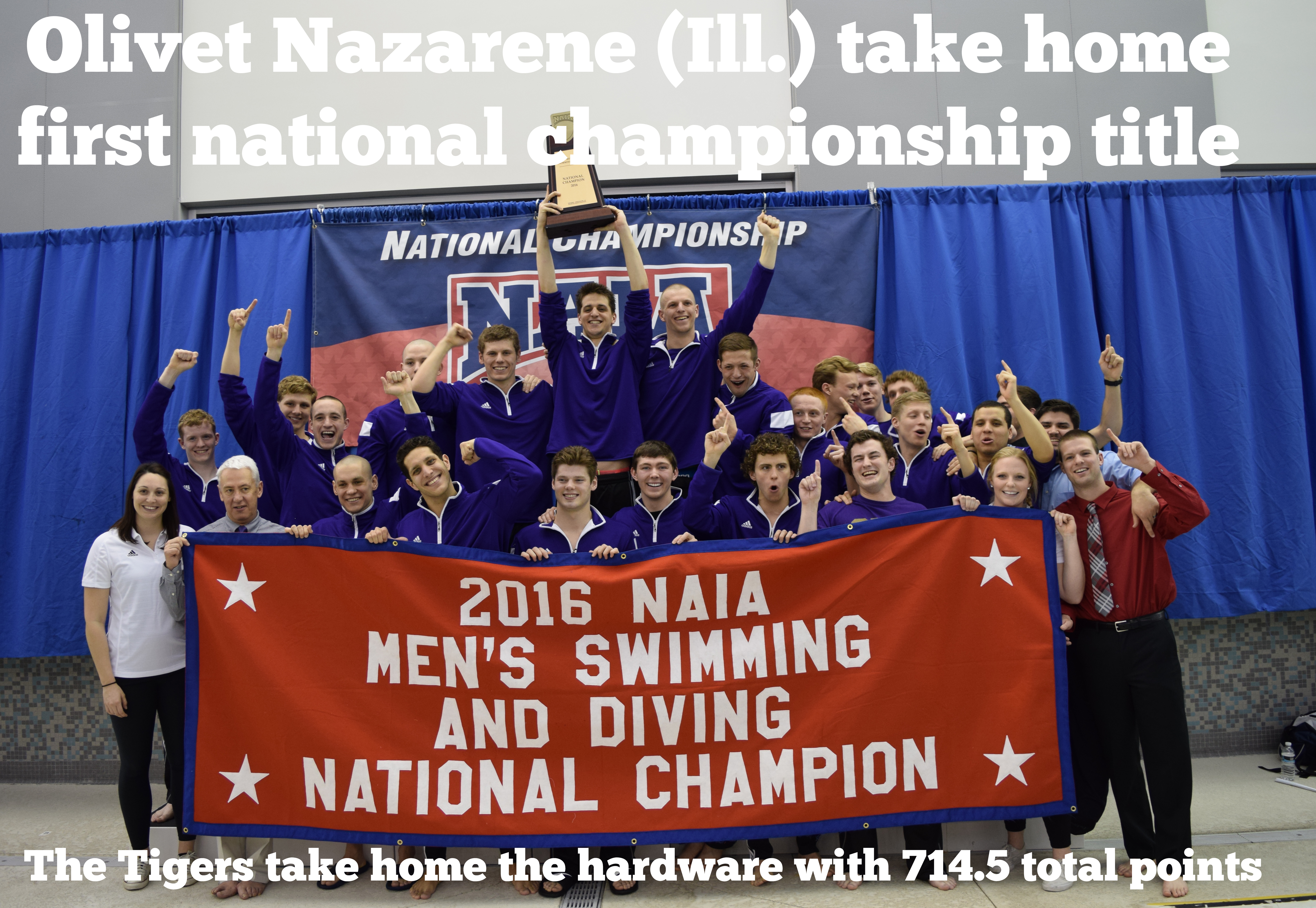 2016 NAIA Men?s and Women?s Swimming & Diving National Championship