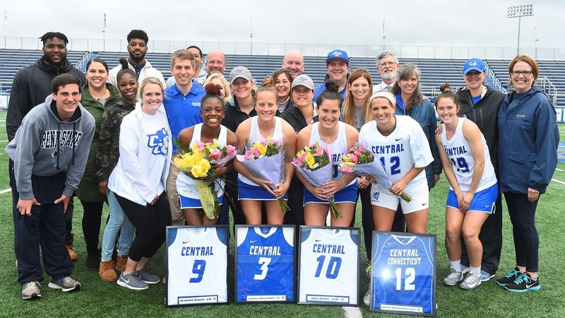 Women's Lacrosse Downed by Wagner on Senior Day