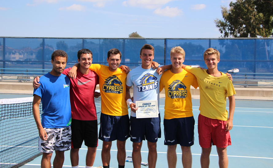 Men's Tennis Ranked No. 3 in ITA SoCal Preseason Poll