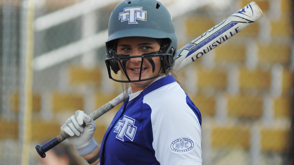 Tech softball earns split in day one of Chattanooga Challenge