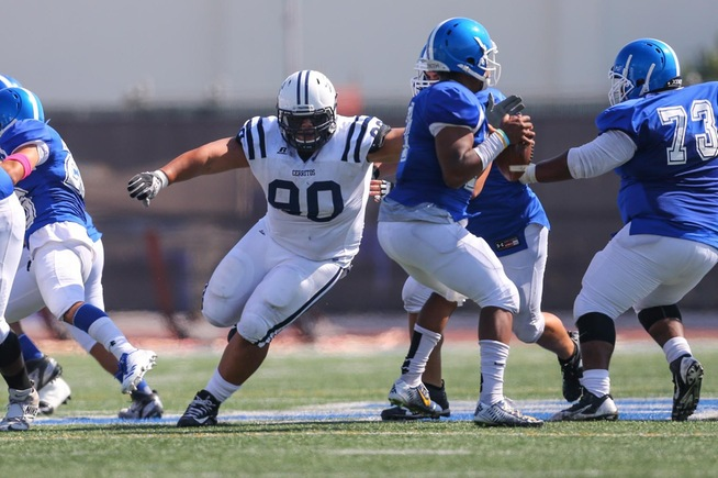 File Photo: PJ Naufahu was a unanimous All-Conference pick