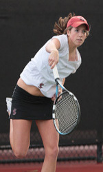 Women's Tennis Faces CSUB, USF This Weekend