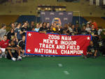 Lindenwood Captures 2006 Men's Indoor Title